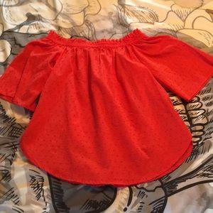 Tops - NWT Vintage Sweet Style Orange Top